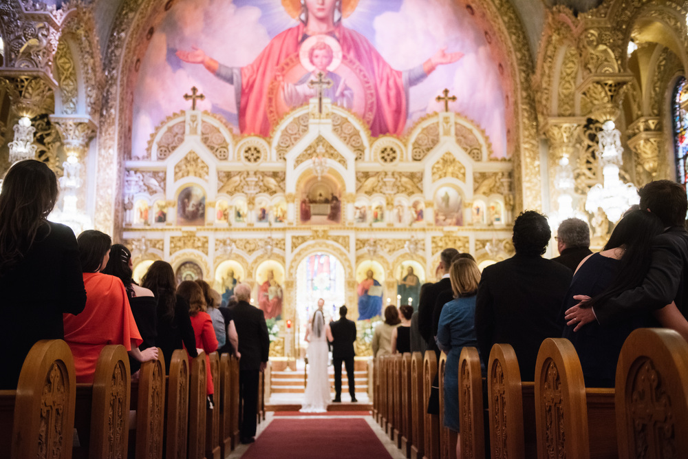 Saint Sophia Greek Orthodox Church Wedding © Abigail R Collins Photography