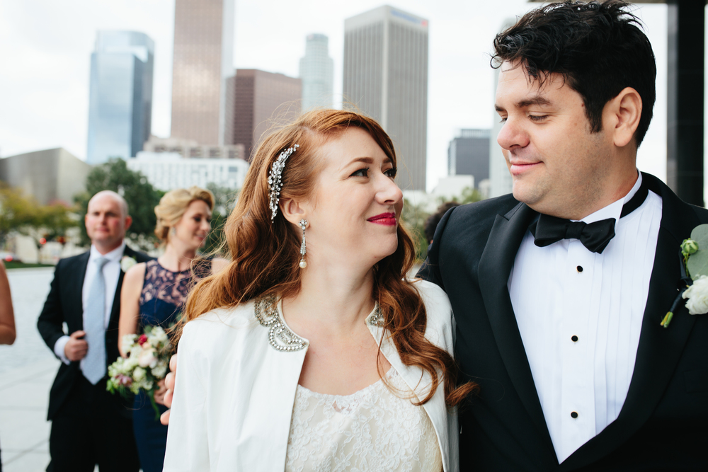 Cicada Club Downtown Los Angeles Wedding © Abigail R Collins Photography