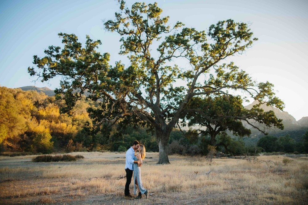 Malibu Creek State Park Engagement Session © Abigail R Collins Photography