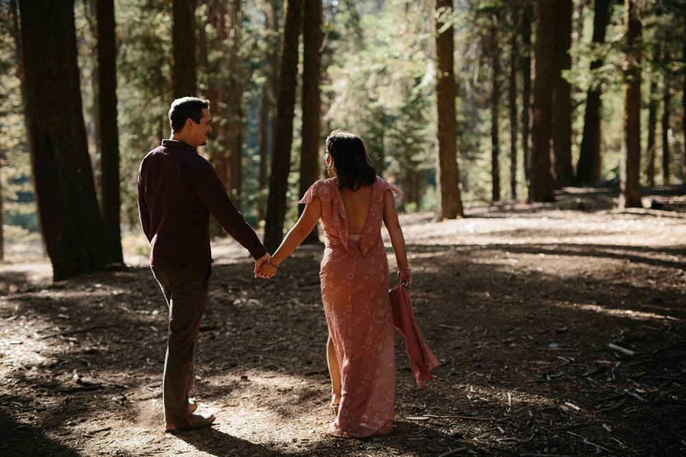 Sequoia National Park Couple Anniversary Photography © Abigail R Collins Photography