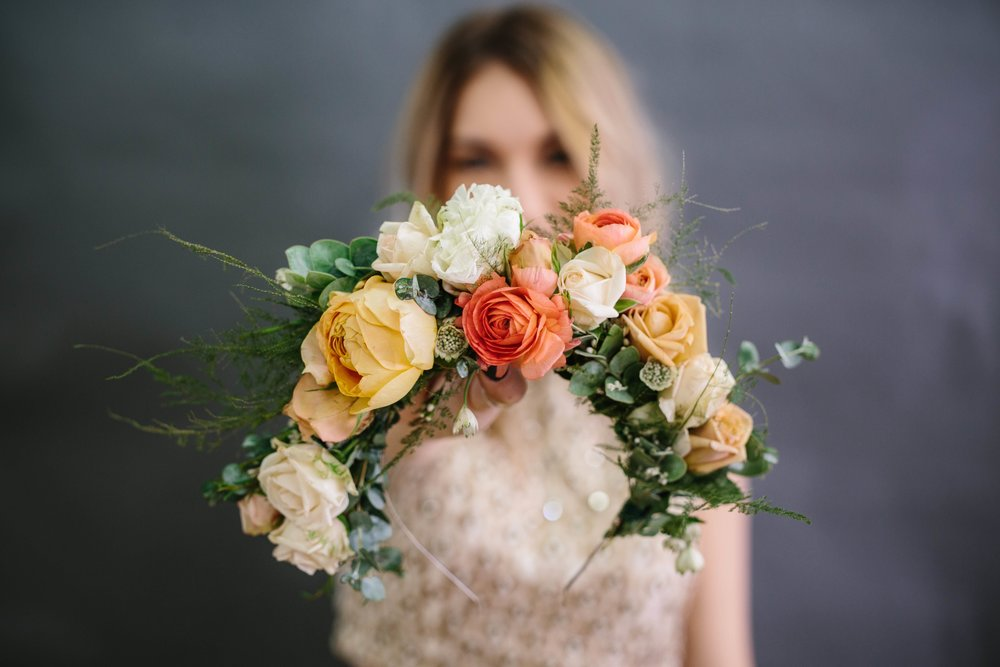 The Crown Collective Wedding and Event Flowers © Abigail R Collins Photography