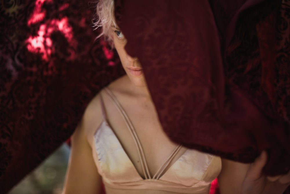 JPL Outdoor Boudoir © Abigail R Collins Photography