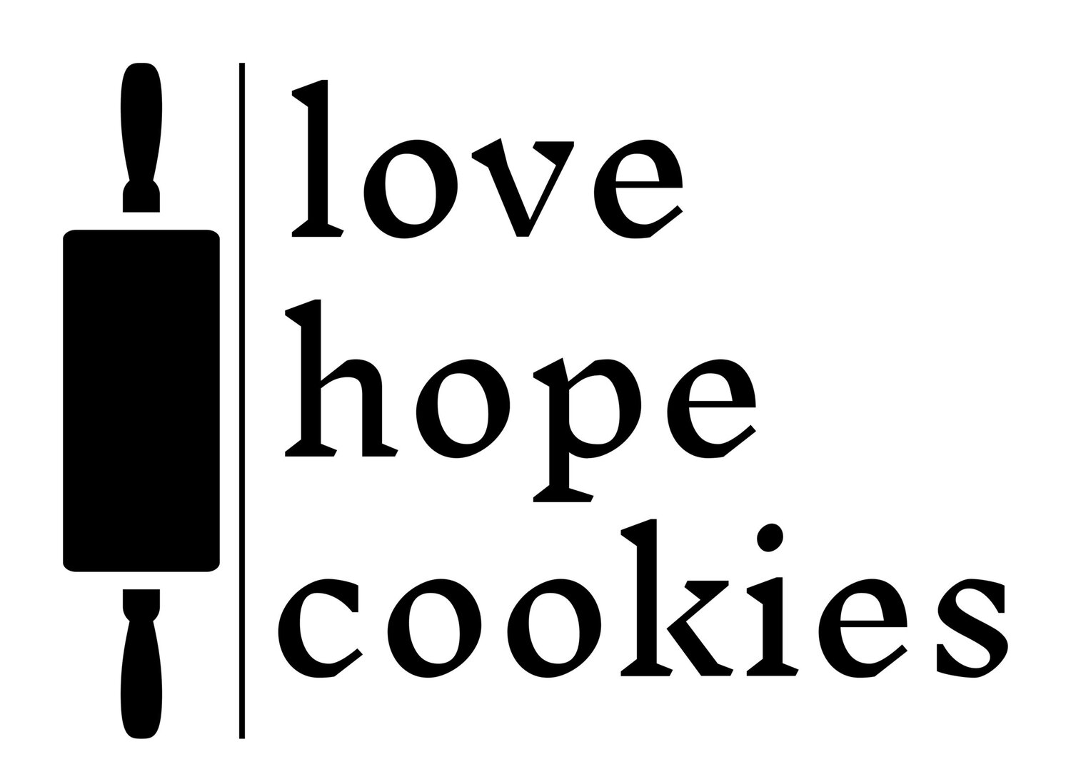love hope cookies