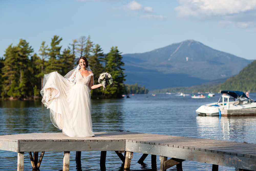 Christina Magnolia gown | Lake Placid, NY | 2015 Tomas Flint Photography