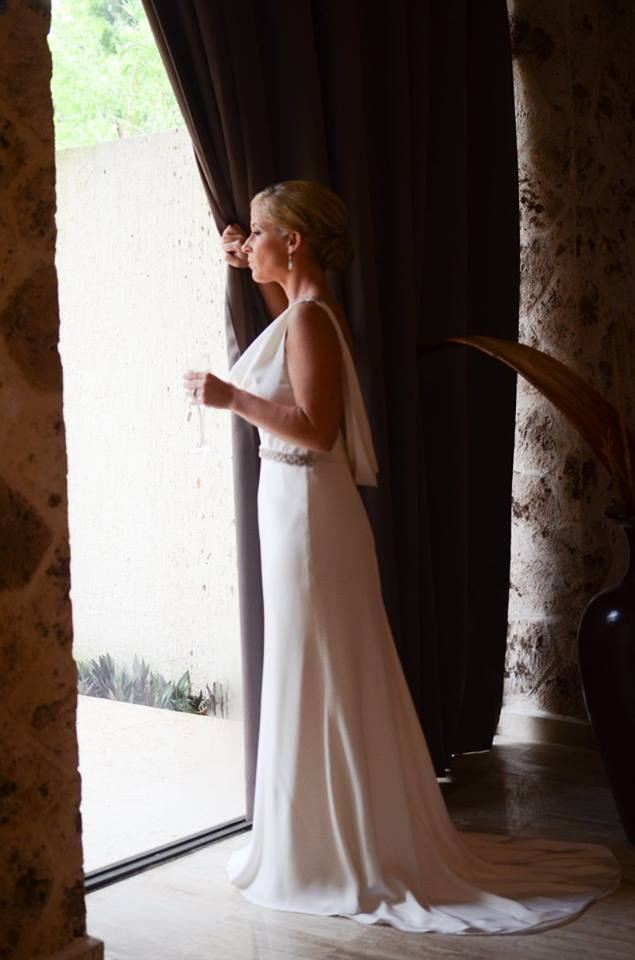 Lauren Fontaine gown | Mexico | 2016 PhotoPro Weddings