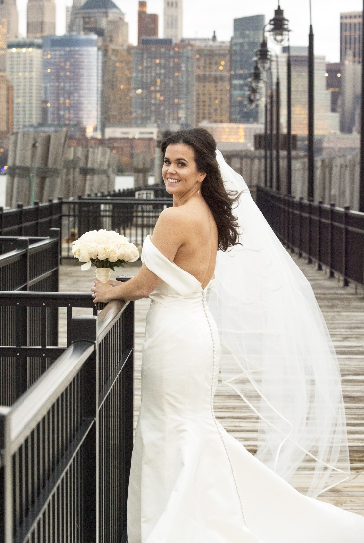 Megan Laurel gown | Jersey City, NJ | 2016 Jeff & Mollie Weddings Photography