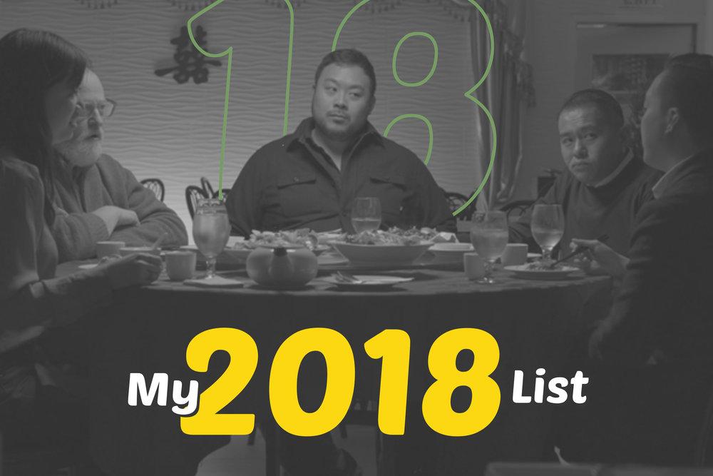 MY 2018 LIST