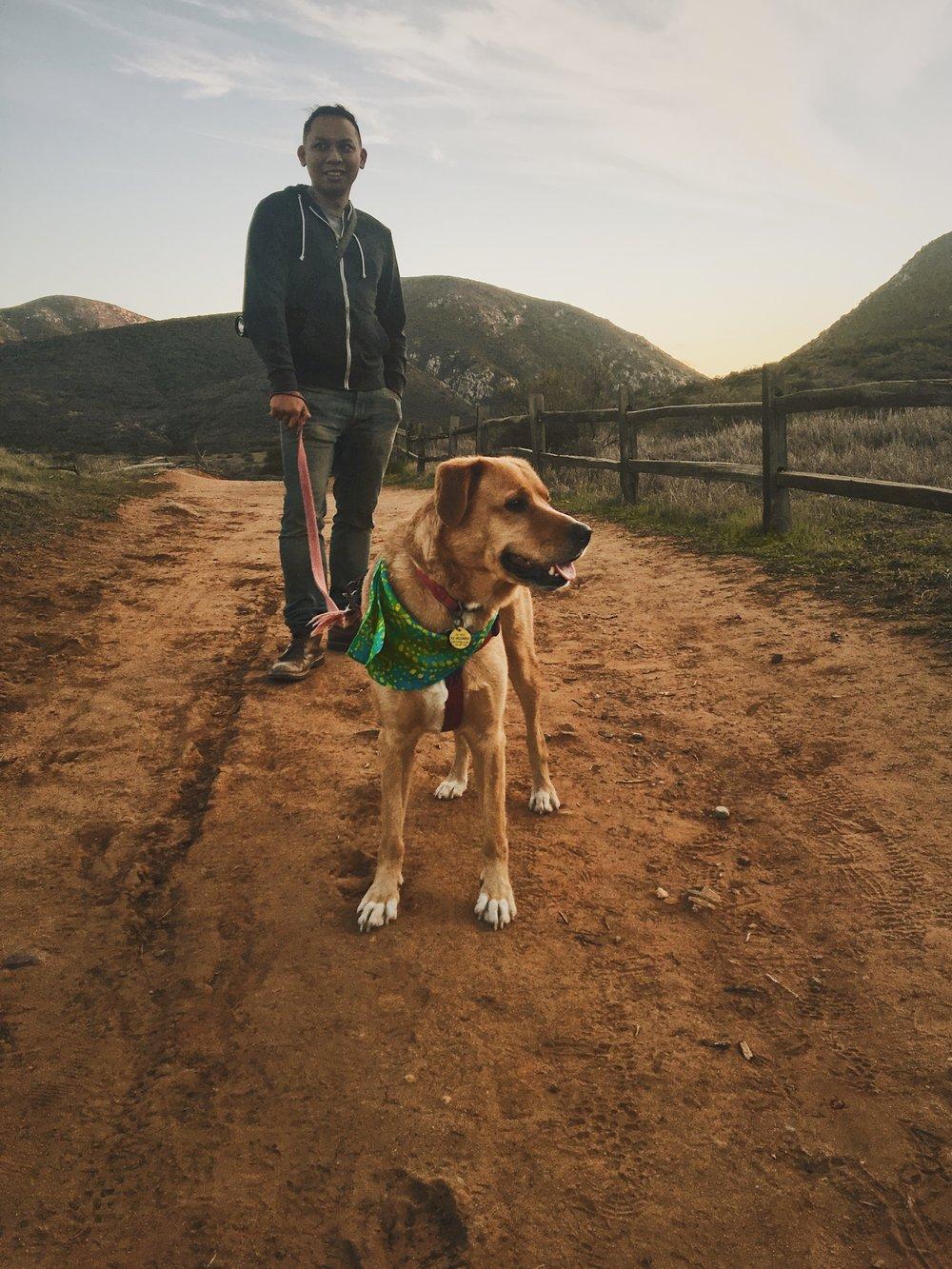 Trails With Beignet [2].JPG