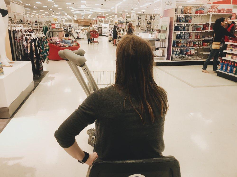 #32 Wheelin' Thru Target.JPG