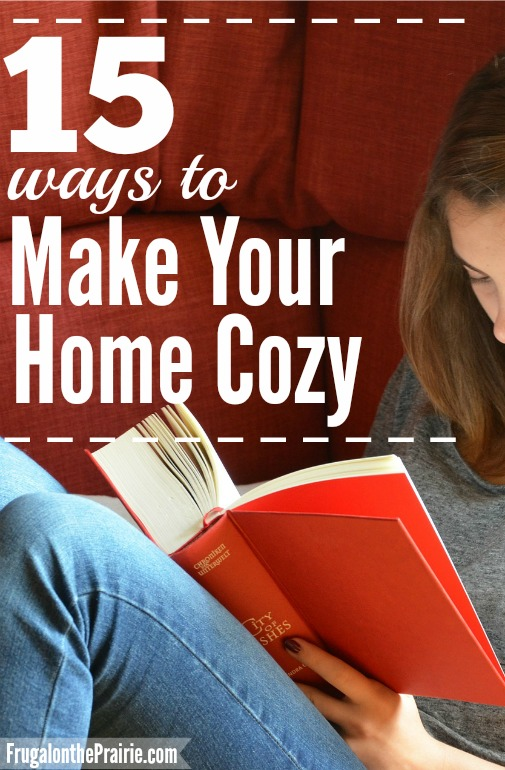 15 Ways to Make Your Home Cozy — Allison Lindstrom | Blogging + Business