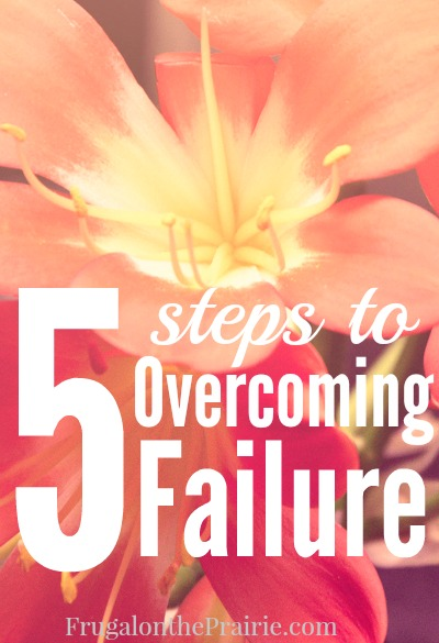 "We all know the phrase ""If at first you don't succeed, try try again,"" but how do we find the motivation? Here are the best steps to overcome failure."
