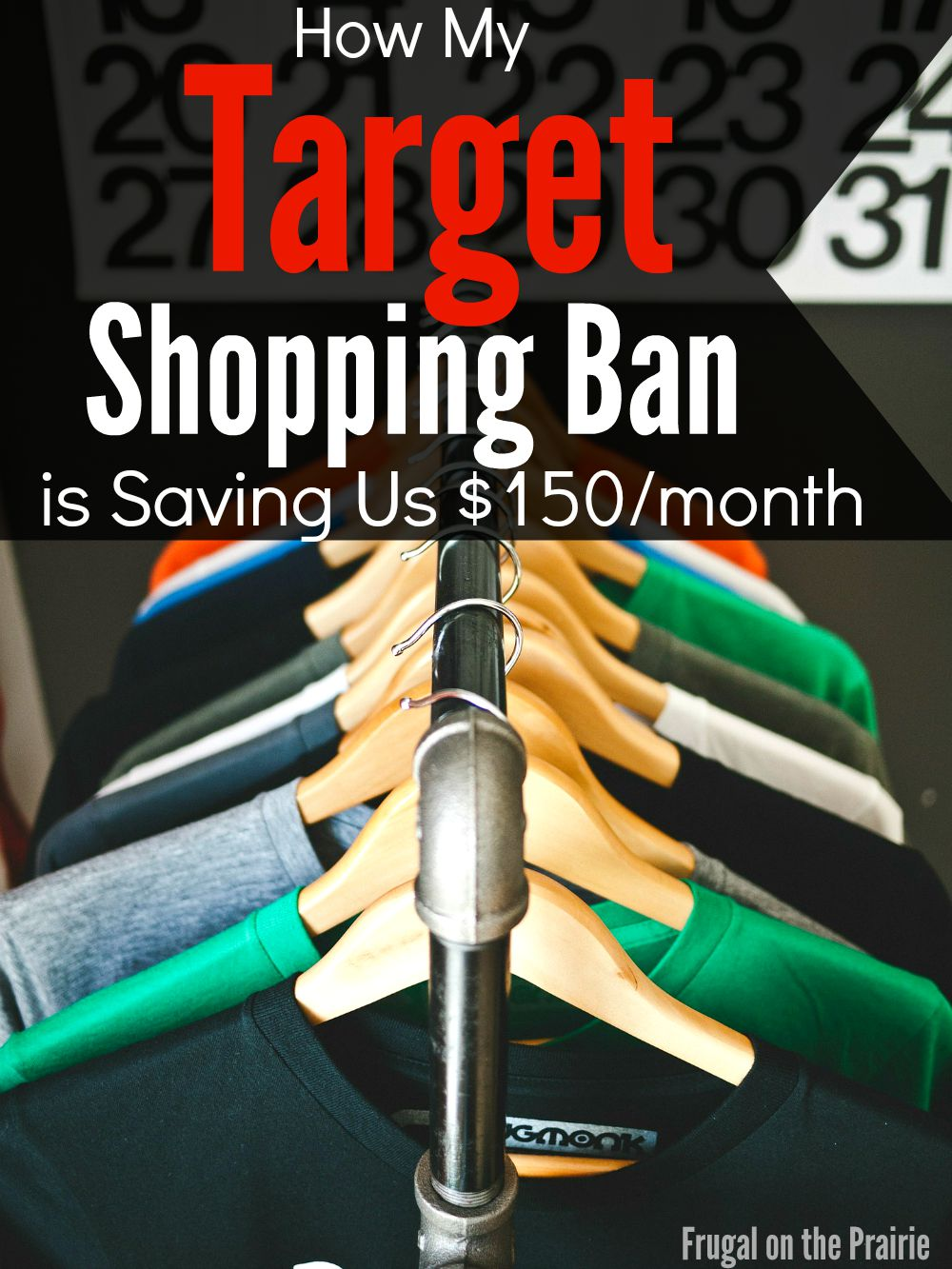 Do you find yourself going into Target for one thing and end up buying ten? Join me as I save $150/month on my Target Shopping Ban!