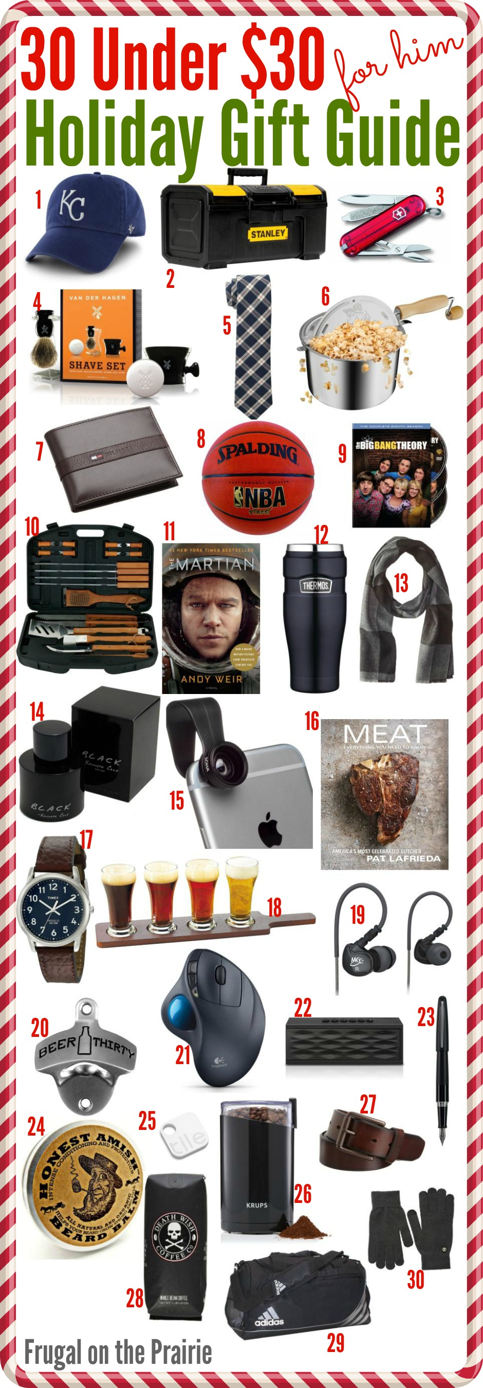 30 Under 30 Holiday Gift Guide For Him Allison Lindstrom Advice On How A Blog Works