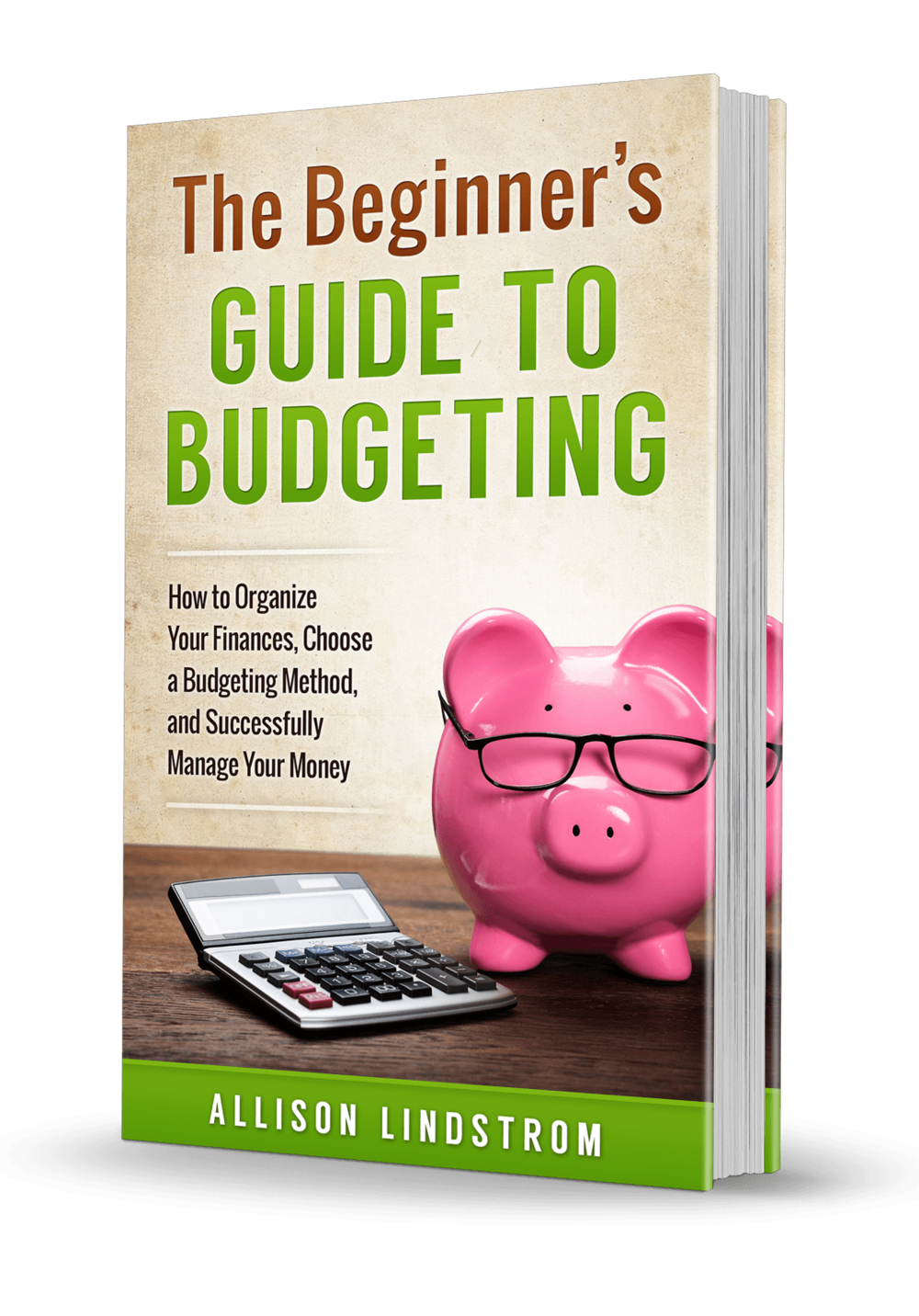 """The Beginner's Guide to Budgeting: How to Organize Your Finances, Choose a Budgeting Method, and Successfully Manage Your Money"" is available on Amazon!"