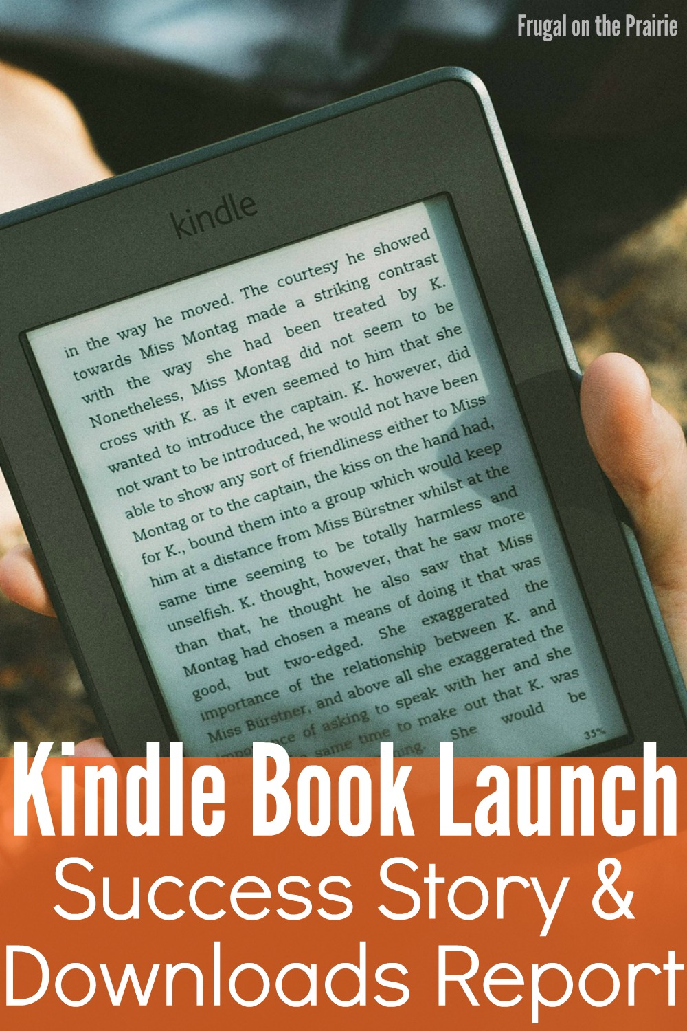 """""""The Beginner's Guide to Budgeting"""" was a success and I'm sharing my Kindle Book Launch Success Story & Downloads Report on the blog today!"""