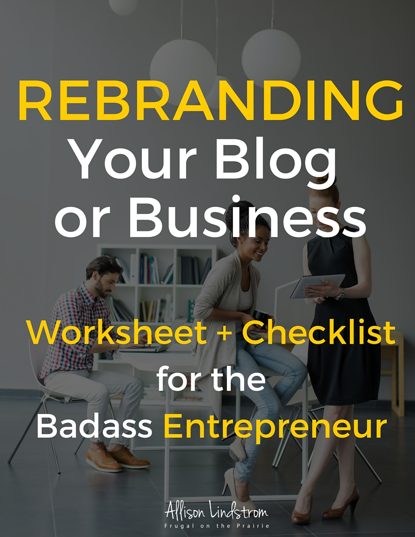 Rebranding your blog or online business? Follow my guide and download a free worksheet + printable to get started!