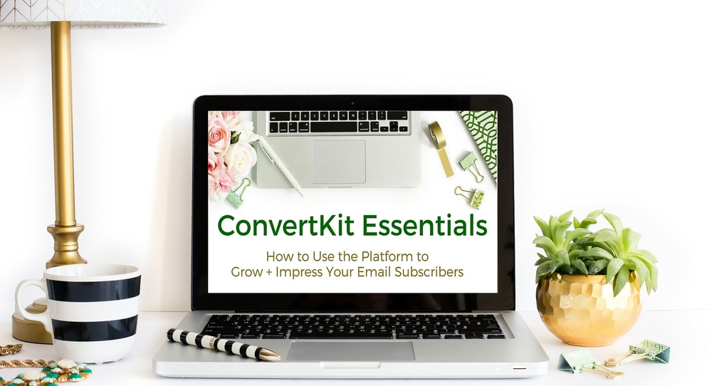 ConvertKit Essentials featured background promo