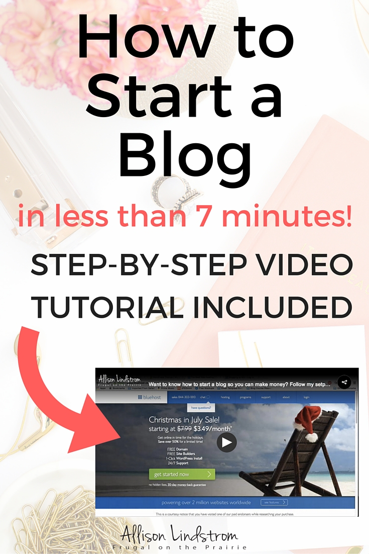 Want to know how to start a blog so you can make money? Follow my tutorial to set up your site so you can impress your readers and earn an income online!