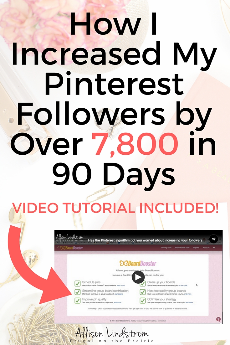 Want to know my secret for increasing my followers on Pinterest? I use Pin Sourcing and am sharing a step-by-step video tutorial for setting it up so YOU can increase your followers too!