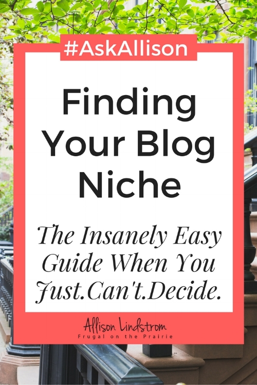 Worried about finding your niche? You already know it's important to narrow down your categories but HOW do you do it?