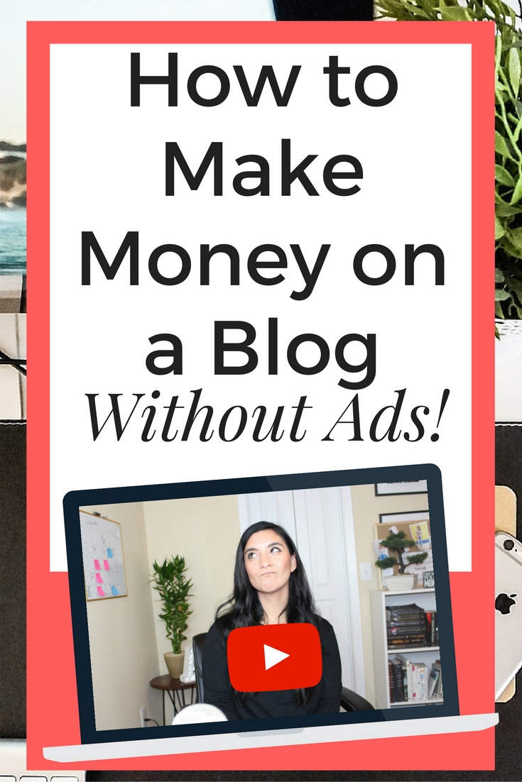 Ever wonder how to make money on your blog without ads? I've got some nifty tips for you! Whether you're a new blogger or a seasoned blogger, it's always great to have options.