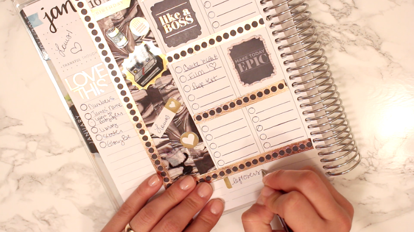 Plan with me in this video using my Erin Condren LifePlanner! If you've ever wondered what it looks like inside a blogger's planner, now's your chance to find out. Check out how I decorate and organize my week!