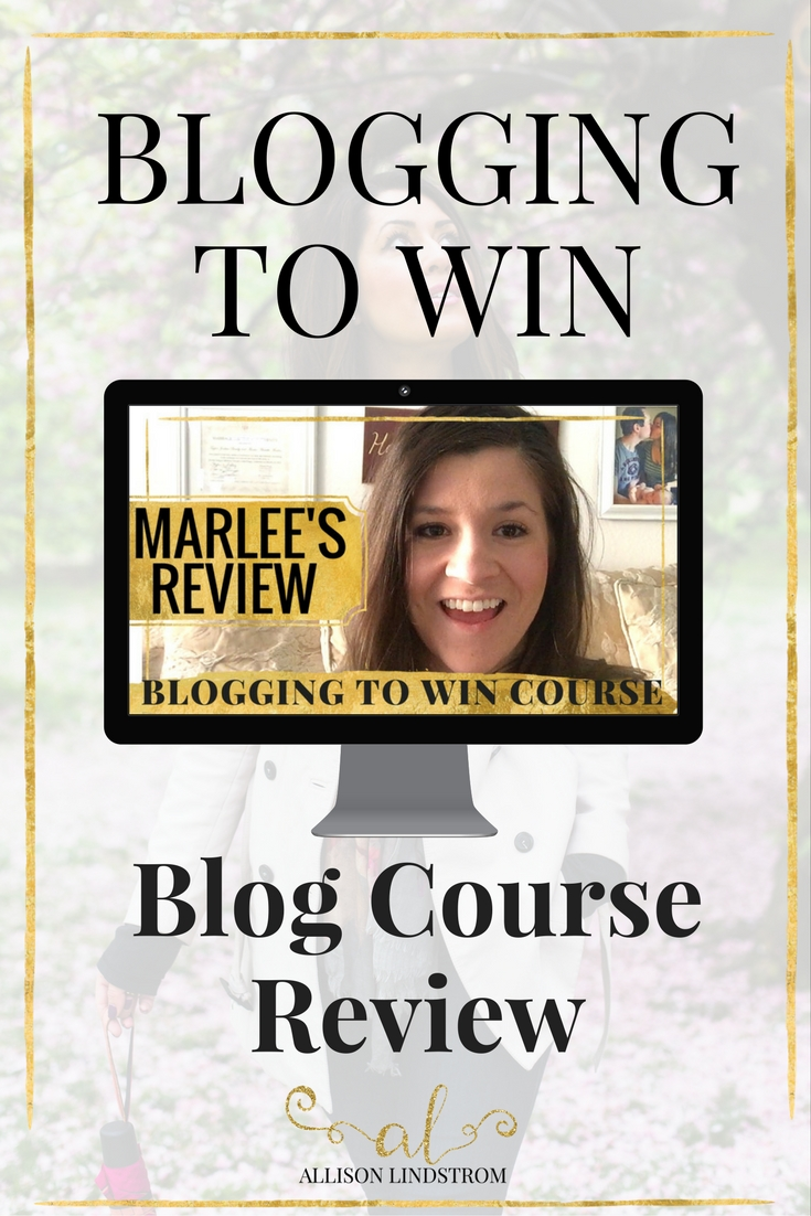 JOIN THE BLOGGING TO WIN COURSE HERE! http://allisonlindstrom.com/bloggingtowin || Blogging to Win is an online course about building a blogging business (not a hobby) with all of the modern strategies bloggers are using today. Marlee from I Just Make Sandwiches talks about how the course has helped her and what it's like to work with me as an instructor!