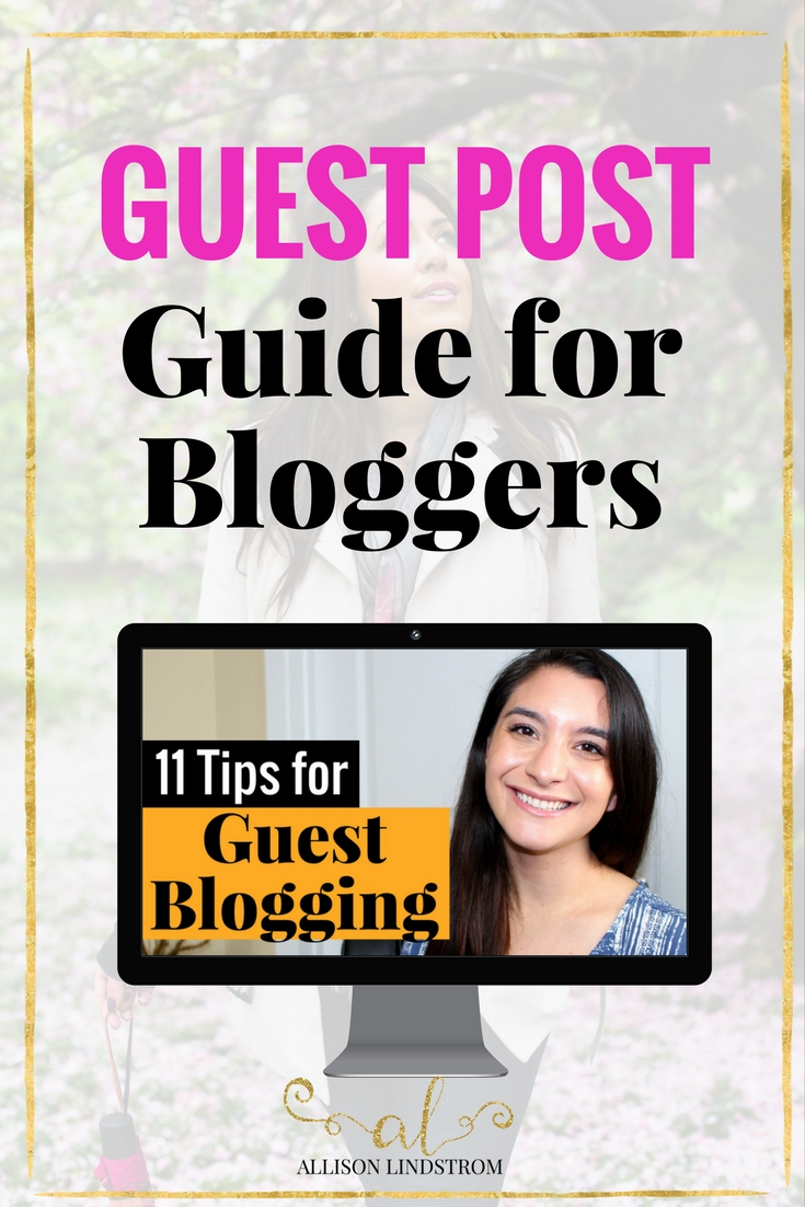 Looking for a guest post guide, with tips and ideas to enhance your postings? I've gotcha covered.Check out these 11 tips for guest blogging so you can impress your host and reap the benefits on your own site as well!