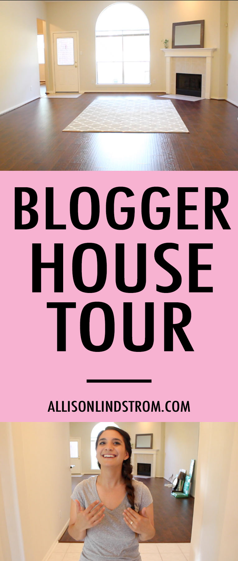 You guys asked for a house tour and I'm happy to oblige! Making money online as a blogger means that I've been fortunate enough to have passive income the entire time we were moving...even though I didn't work a single day! Hallelujah! If you're interested in starting a blog so you can have the same experience in a couple of years, check out this blog post for my free blog resources.