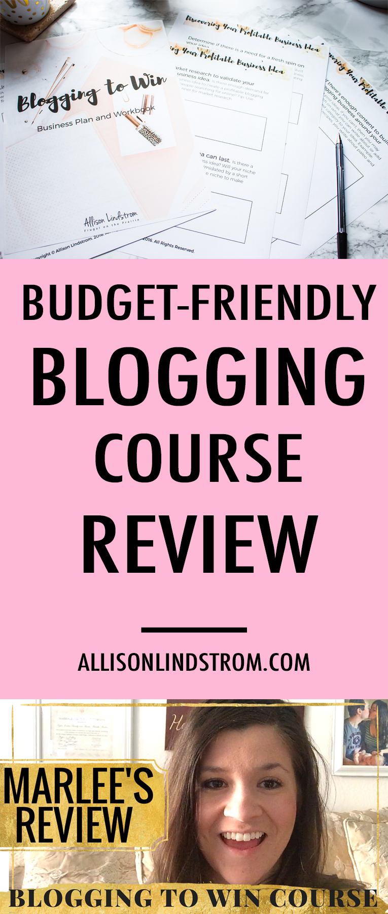 JOIN THE BLOGGING TO WIN COURSE HERE! http://allisonlindstrom.com/bloggingtowin || Blogging to Win is an online course about building a blogging business (not a hobby) with all of the modern strategies bloggers are using today. Marlee from I Just Make Sandwiches talks about how the course has helped her and what it's like to work with me as an instructor! Check out Marlee's site here: http://ijustmakesandwiches.com/ || BLOGGING TO WIN | BLOG COURSE REVIEW | MARLEE