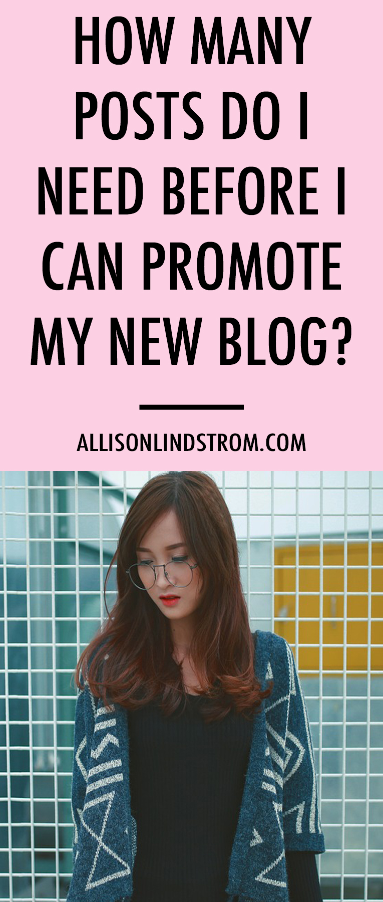 "It's the question most people ask when they're starting a blog. ""How many blog posts should I have before I can start promoting?"" I'm sharing my answer today!"