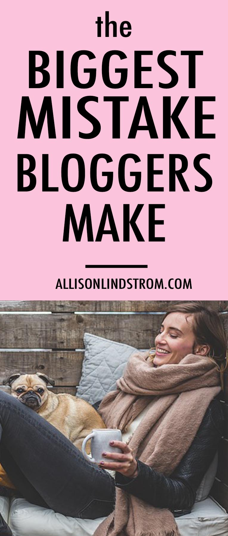 We all want to make money blogging but sometimes WE are the very reason it's not happening. If you've been writing blogs for 10 years or only 10 minutes, then you need to know about one of the biggest mistakes bloggers make to stunt their business growth. ● BIGGEST MISTAKE BLOGGERS MAKE ● BLOGGING TIPS ● WRITING BLOGS