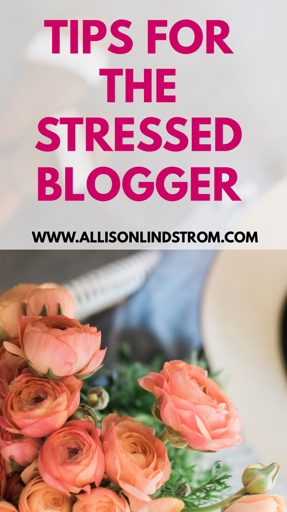Starting a blog and taking care of it full-time isn't the easiest job in the world. And that's when life is on a normal schedule! Do you stress out during the holidays or when you get back from vacations? I've had some crazy to-do lists lately myself and have some stress management tips to share.