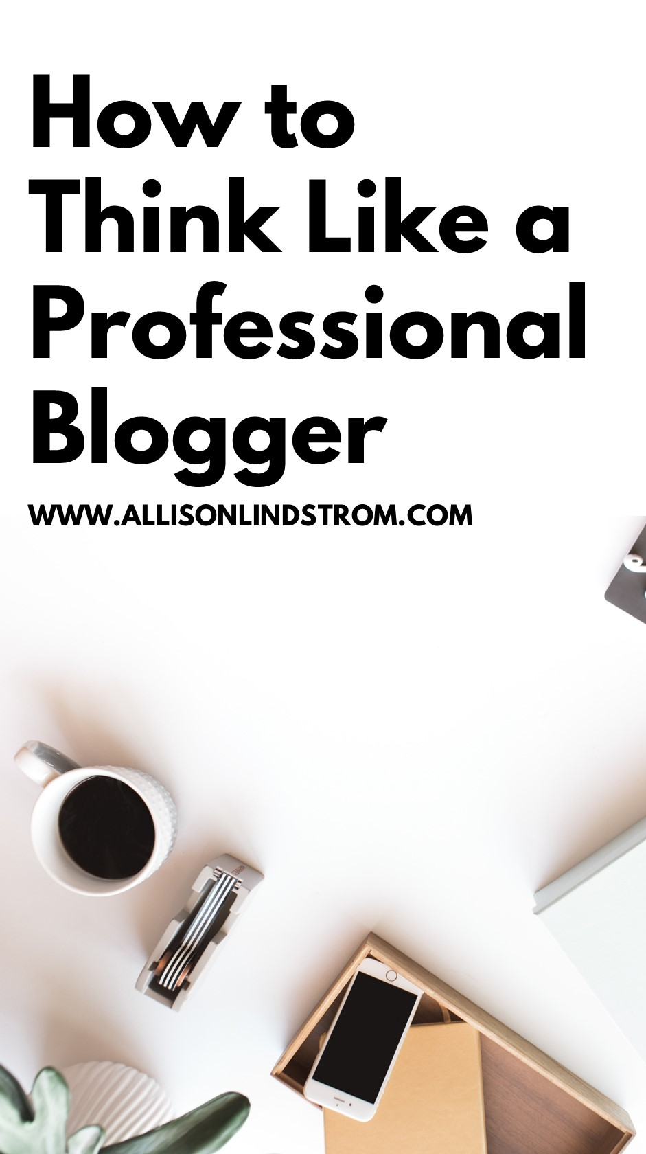 How to Think Like a Professional Blogger-- One of the biggest challenges I see new bloggers run into is that they have a hard time figuring out how to make pro blogger decisions and run their blog for business purposes. Instinctively, we just want to write and share content! But you can seamlessly combine the two worlds by 1) helping people AND 2) supporting yourself financially.