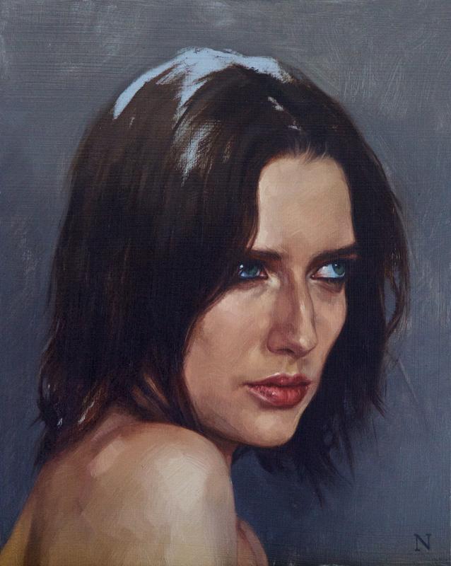 """portrait study, Sarah"""