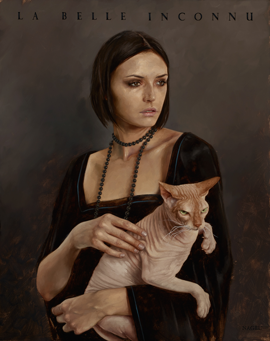 """lady with a sphinx"""