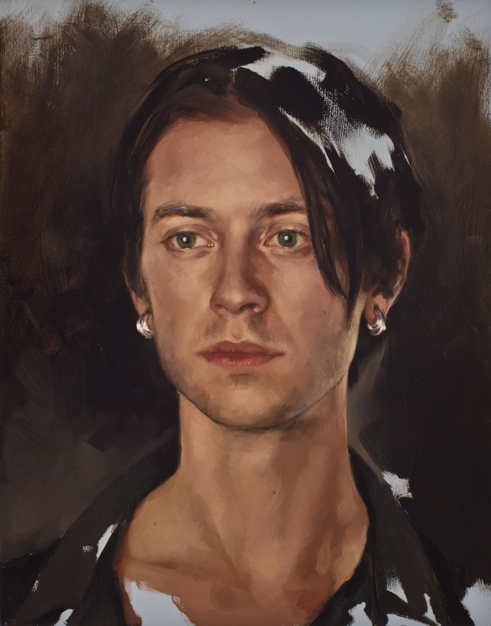 "portrait study, ""Nils"""