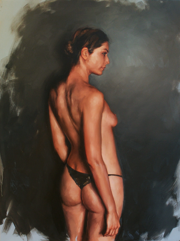 "figure study, ""Chanon"""