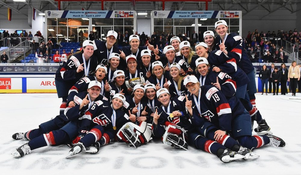 Via the USA Women's Hockey Team website