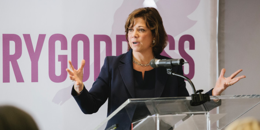 Photo credit: Deborah Rosado Shaw, SVP, Chief Global Diversity and Engagement Officer at PepsiCo. Photo by Krisanne Johnson