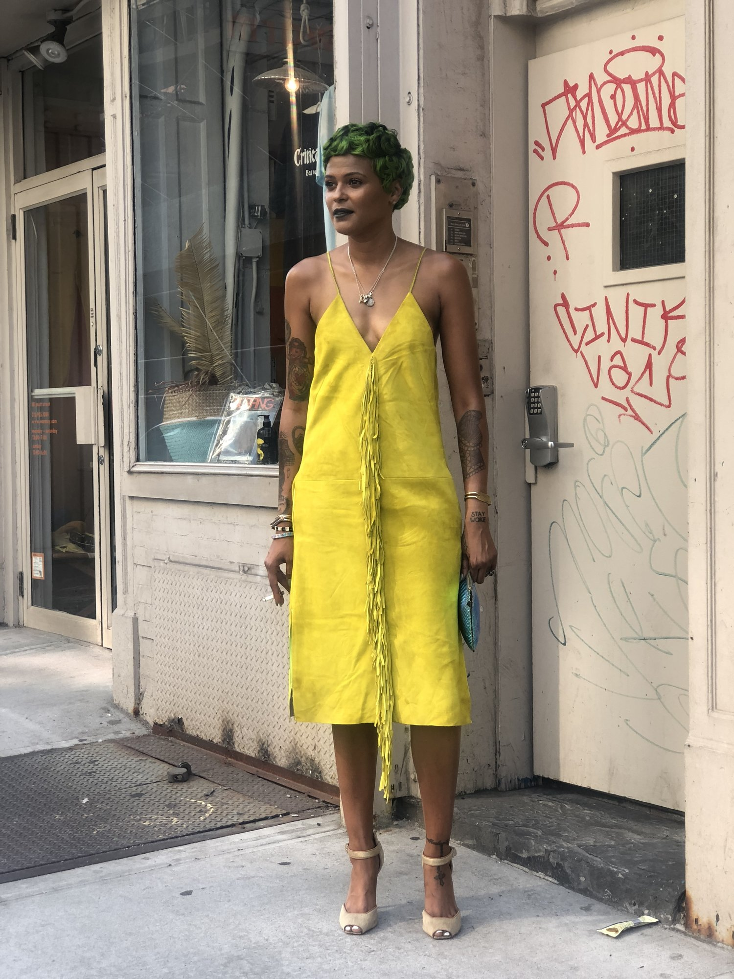 Crystal Anderson Operations Manager And Producer Man Repeller La Femme Collective