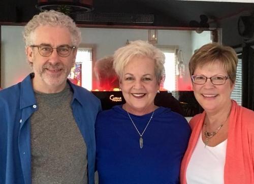 Jeff nelson, Roscha zoet and Jill Johnson - Teacher Training staff