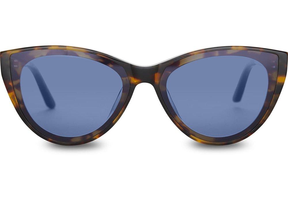 Josie Blonde Tortoise Sunglasses | TOMS