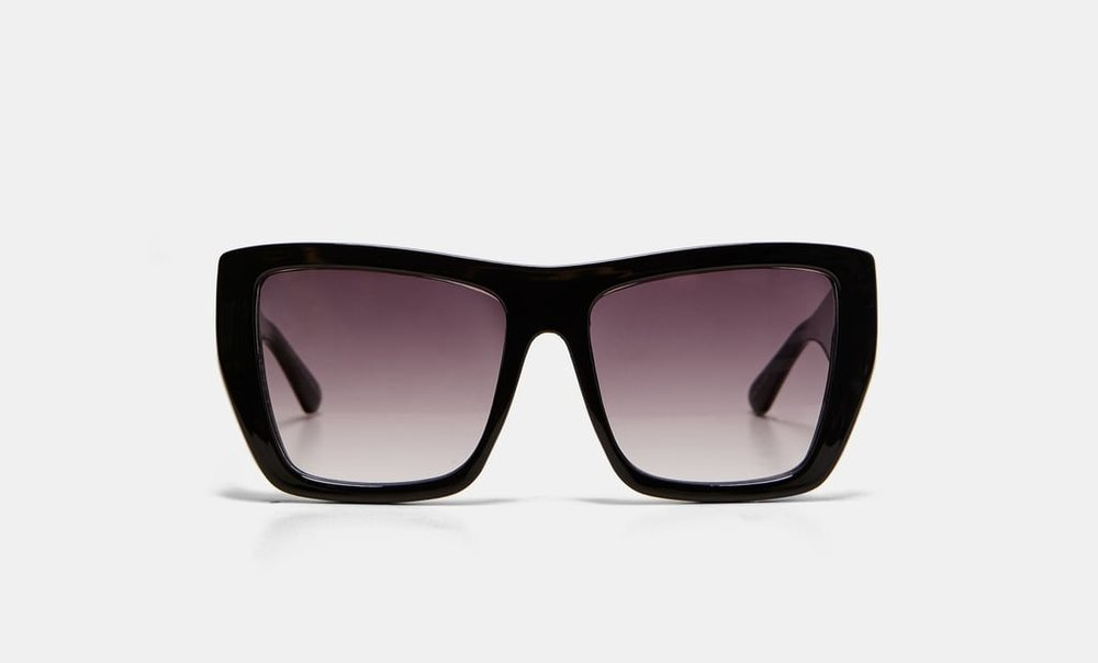 Square Resin Sunglasses | Zara
