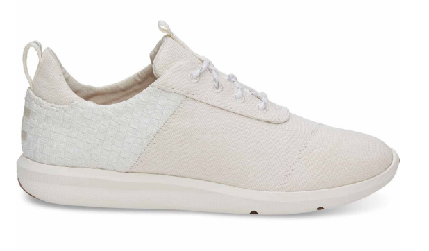 White Heritage Canvas Cabrillo Sneakers | TOMS