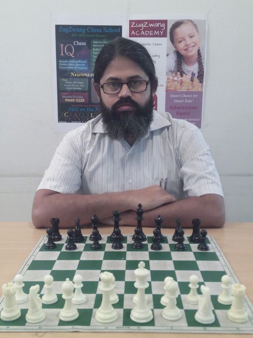 Name: Bharath Divyang Coach Level:  Level A Target Students: Intermediate / Advanced Experience: 10+ years    Availability: Yes