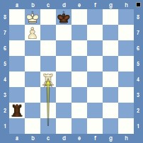 Lucena Position   (White to win)