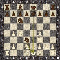 Budapest Gambit Mate