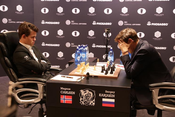 Carlsen vs Karjakin WCC 2016