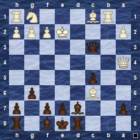 Discovered Attacks (Black to Move)